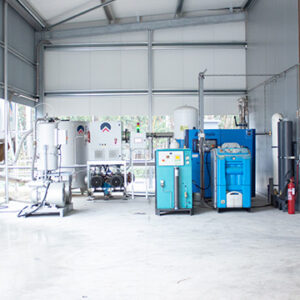 Central Cooling and Water Treatment System 1