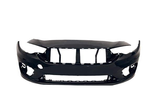 Front bumper plastic part injected in MOLDIT Industries