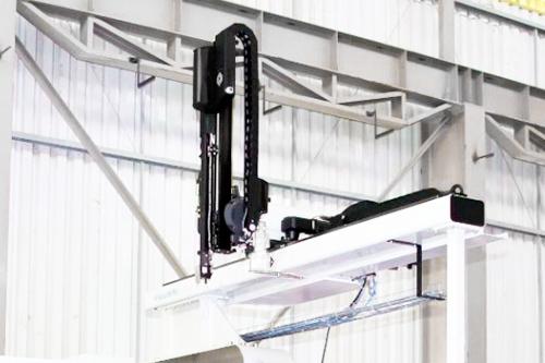 Krauss Maffei injection machine robot
