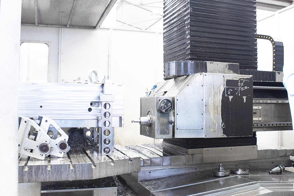 Mold in drilling machine