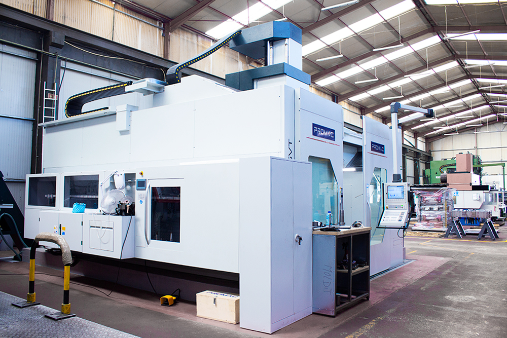Promac Sharav Gvt milling machine