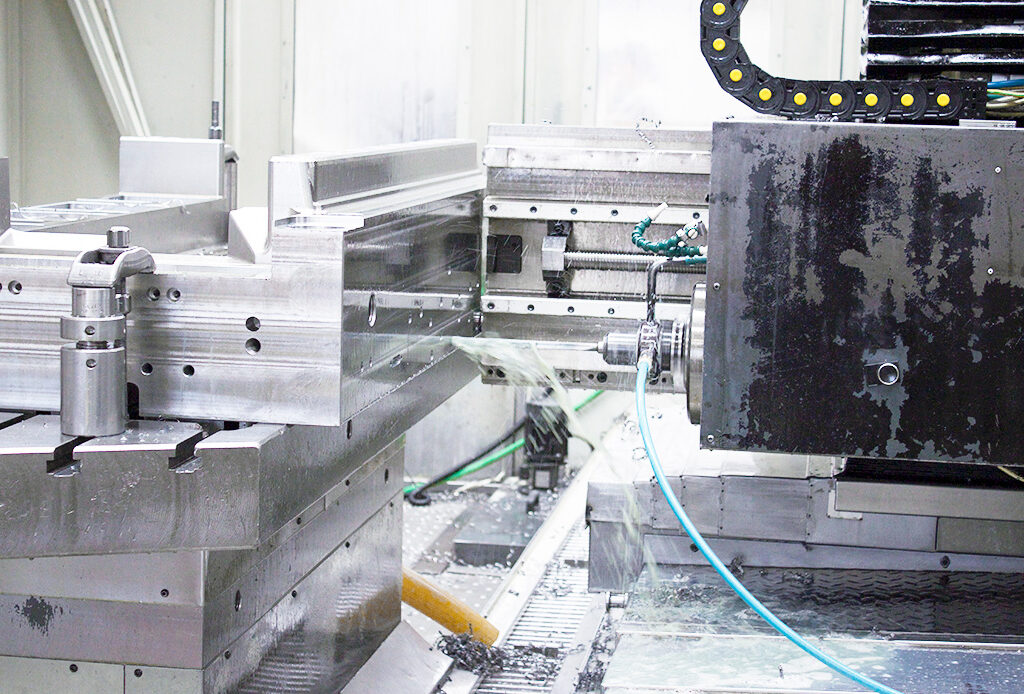 mold in drilling machine at MOLDIT Industries